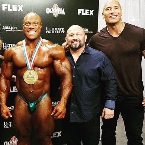 The Rock With Phil Heath